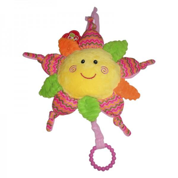 Cunero Sol bordado multicolor