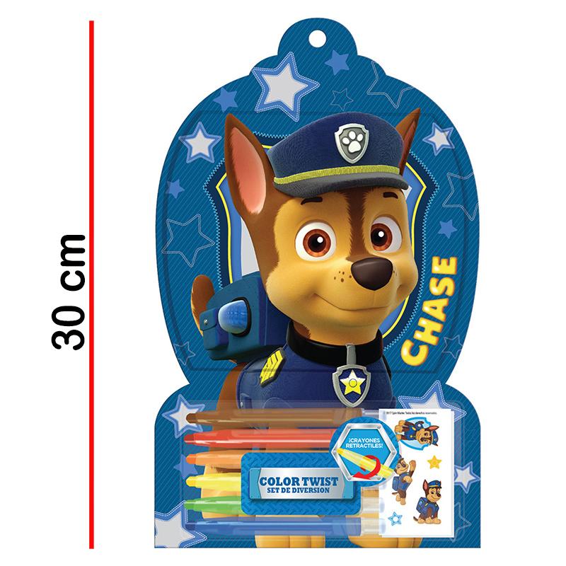 Color Twist Paw Patrol Libro Para Colorear De 30 Pag6 Crayones2 Planchas Stickers